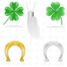luck talismans and amulets four leaf clover horseshoe and