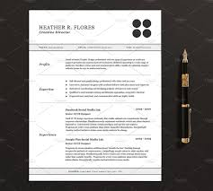 Sample Resume Format Usa by 3 Pages Resume Cv Template Full Set Resume Templates Creative