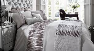 Bedspread And Curtain Sets Bedding Set Eye Catching Luxury Black And Silver Bedding