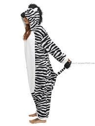zebra halloween costume zebra onesie kigurumi pajama fancy costume mall