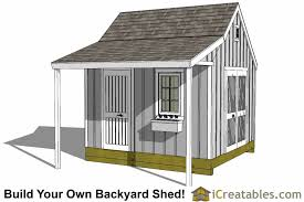 Diy 10x12 Storage Shed Plans by 12x12 Shed Plans Build Your Own Storage Lean To Or Garage Shed