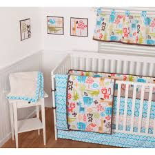 Safari Nursery Bedding Sets by Sumersault Sunshine Safari 9 Piece Nursery In A Bag Crib Bedding