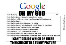 Meme Search Engine - oh google you may be just a search engine but you are hilarios by