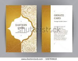 photo frame cards vector set ornate vertical cards stock vector 377733679