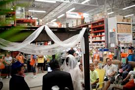 home depot black friday patio heater home depot helps couple renew wedding vows for 25th anniversary