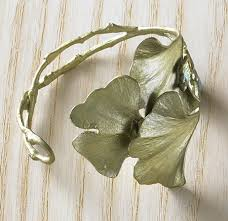 bracelet leaf images Ginkgo leaf cuff bracelet the museum shop of the art institute jpg