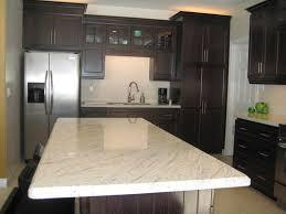 Granite Kitchen Cabinets Kitchen Countertops Small Kitchen Design With Brown Wood