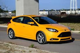 ford focus st yellow 2013 ford focus st review test drive