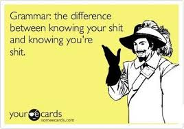 Meme Grammar - why grammar matters proof perfectly