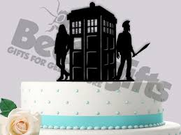 doctor who cake topper tardis wedding cake topper doulacindy doulacindy