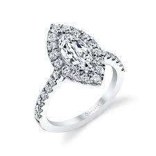 marquise cut engagement rings marquise cut halo engagement ring sylvie collectionalexis