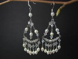 and pearl chandelier earrings chandelier earrings pearl and thesecretconsul
