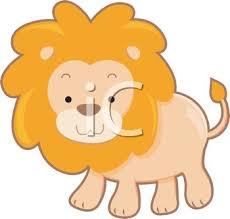 picture cartoon lion vector clip art illustration