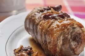 comment cuisiner roti de porc recette rôti de porc farci
