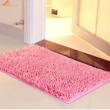 Luxe Microfiber Chenille Bath Rug Flowers Bathroom Rug Sets Bath Mats Yellow And Green Bathroom Rugs