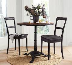 Reclaimed Wood Dining Table And Chairs Cline Dining Chairs Pottery Barn