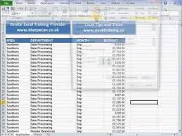 repeat column headings for each printed page in excel youtube