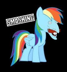 Smashing Meme - 568908 meme nigel thornberry rainbow dash safe smashing