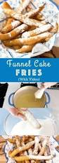 diy funnel cake fries with video recipe