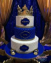 blue and gold baby shower decorations baby shower ideas