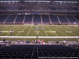 ford field section 100 seat views seatgeek