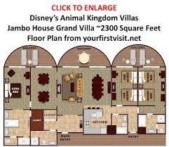 Floridian House Plans The Disney Vacation Club