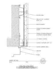 Window Sill Detail Cad Usg Design Studio Window Head Download Details