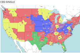 Tv Reception Map Cincinnati National Nfl Tv Coverage Map For Week 7 Cincy Jungle