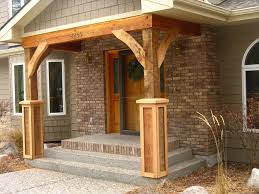 small modern home possible front porch design plans bungalow porch style and house