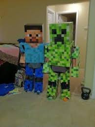 Minecraft Villager Halloween Costume Minecraft Family Halloween Costume Creepers Costumes