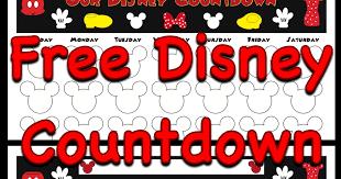 printable disney countdown calendar calendar template 2017