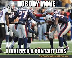 Nfl Funny Memes - awful moments in contact lens wearing football humor nfl memes