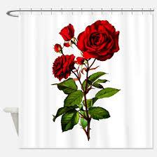 Red Rose Bathroom Accessories Vintage Rose Bathroom Accessories U0026 Decor Cafepress