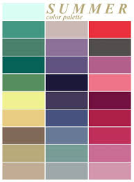 Summer Colors | i always thought i was a spring but according to this site i am a