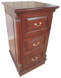 Mahogany Filing Cabinet 3 Drawer Mahogany Filing Cabinet Cht024 D Lock Stock Barrel