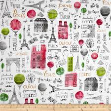 kaufman paris adventure collage garden gardens home and colors designed by margaret berg for robert kaufman this cotton print fabric is perfect for quilting
