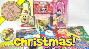 dollar store candy haul christmas candy spongebob disney and