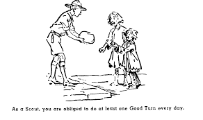 faberfamily backfence net stake scout master training art