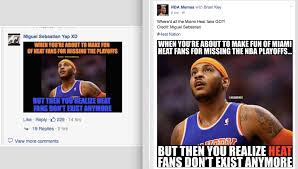 Melo Memes - awesome to fans of this page so not only did nba memes steal our