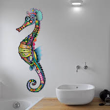 best sea underwater wall stickers for your home the mermaids home the little unique boutique seahorse wall art