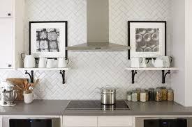 Herringbone Subway Tile Design Ideas - Herringbone tile backsplash