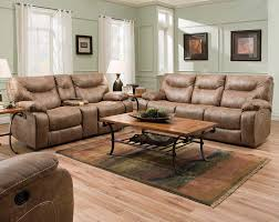recliner brown leather loveseat recliner intriguing brown