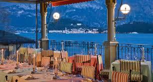 la terrazza d祟ner romantique et raffin礬 au restaurant la terrazza sur le lac
