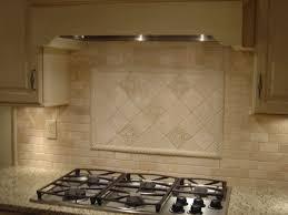 Kitchen Back Splash Design by Brilliant Kitchen Backsplash Over Stove Hood Above A Marble