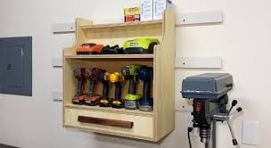 charging shelf station cordless drill charging center fixthisbuildthat