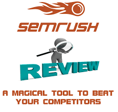 semrush review beat your competitors in google trail link included