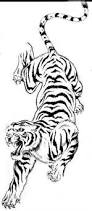indonesian white tiger drawing google zoeken body art