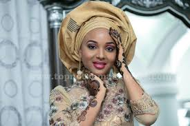 bella niger hair african bridal outfits hausa style see beautiful colorful bridal