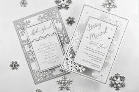 Snowflake Wedding Invitations How To Make Snowflake Wedding Invitations Imagine Diy