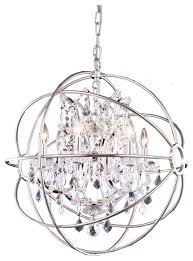 Crystal Sphere Chandelier Sphere Chandeliers Antique Bronze Vintage Sphere Cage Crystal